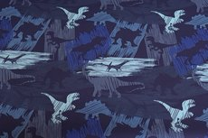 Soft Shell Dino Blue