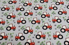 Cotton Jersey Tractor Grey
