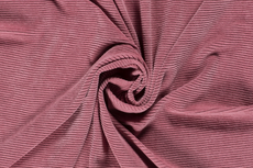 Fine Corduroy Jersey Old Pink