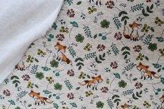 Jogging/Sweat Fox Vintage Flowers Melange Creme