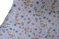 Jogging/Sweat Fox Vintage Flowers Melange Light Blue