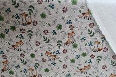 Jogging/Sweat Fox Vintage Flowers Melange Light Grey