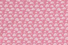 Mousseline Rainbow Pink
