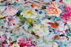 Viscose Digital Roses