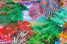 Viscose Jersey Digital Jungle Flowers Multi 1