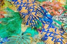 Viscose Jersey Digital Jungle Flowers Multi 2