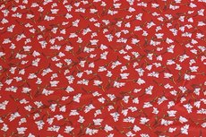 Viscose Jersey Little Flowers Red