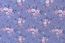 Cotton Jersey Rose Lavedel/Lila
