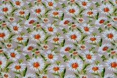 Viscose Crincle Little Flowers Beige 1