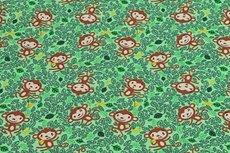 Cotton Jersey Monkey Green