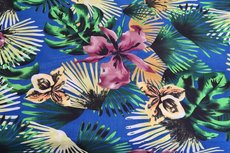 Poly Flowers Blue