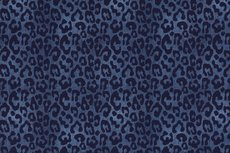 Cotton Jersey Leopard Panther Jeans  R
