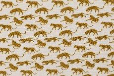 Mousseline Digital Cheetah Off White