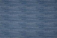 Cotton Jersey Vintage Stripes Blue