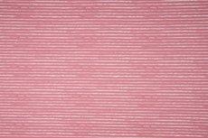 Cotton Jersey Vintage Stripes Old Pink