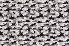 Cotton Jersey Army Camou Grey 2