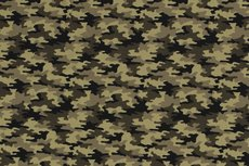 Cotton Jersey Army Camou Green 2