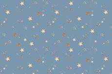 Cotton Jersey Digital Stars Light Jeans