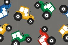 Cotton Jersey Tractor Grey 2