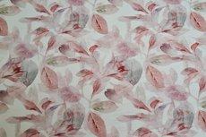 Cotton Jersey Digital Vintage Flowers Off White 5