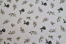 Cotton Jersey Digital Vintage Flowers Off White 3