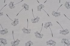 Cotton Jersey Dandelion Light Grey