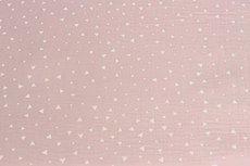 Mousseline Triangle Light Pink