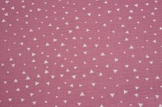 Mousseline Triangle Pink