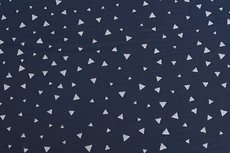 Mousseline Triangle Navy