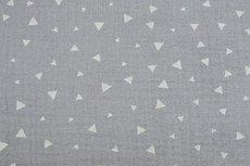Mousseline Triangle Light Grey