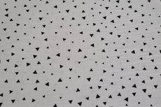 Mousseline Triangle White
