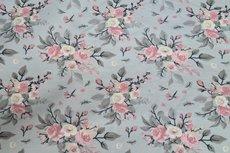 Cotton Jersey Rose Grey