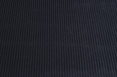 Rib Velours Black