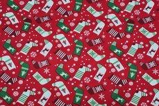 Christmas Cotton Socks Red 9