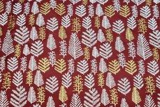 Christmas Cotton Tree Dark Red 8