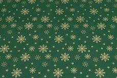 Christmas Cotton Snow Green 10