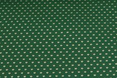 Christmas Cotton Little Star Green