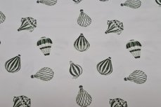 Organic Cotton Jersey Balloons Old Green