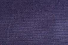 Katoenen Rib Velours Purple