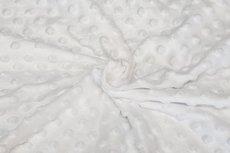Minky Fleece White