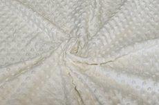 Minky Fleece Off White