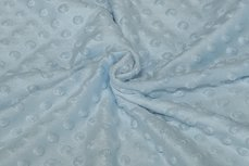 Minky Fleece Light Blue