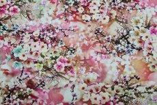 Viscose Digital Flowers 1