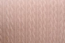 Knitted Jacquard Small Cable Light Pink