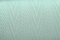 Knitted Jacquard Cable Mint Green