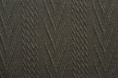 Knitted Jacquard Cable Dark Green