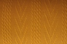 Knitted Jacquard Cable Oker