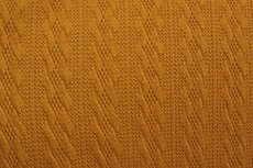 Knitted Jacquard Small Cable Oker