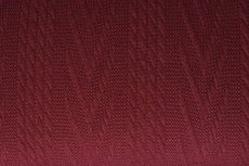 Knitted Jacquard Cable Bordeaux