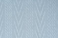 Knitted Jacquard Cable Light Blue